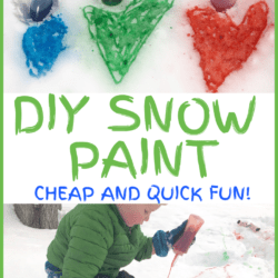 DIY Easy Snow Paint for Kids! (1 Ingredient!)