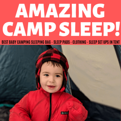 what to pack and how to get baby warm at night while camping
