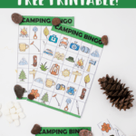 Free Printable Camping Bingo Cards – A Fun Camping Party or Outdoor Activity for the Whole Family!