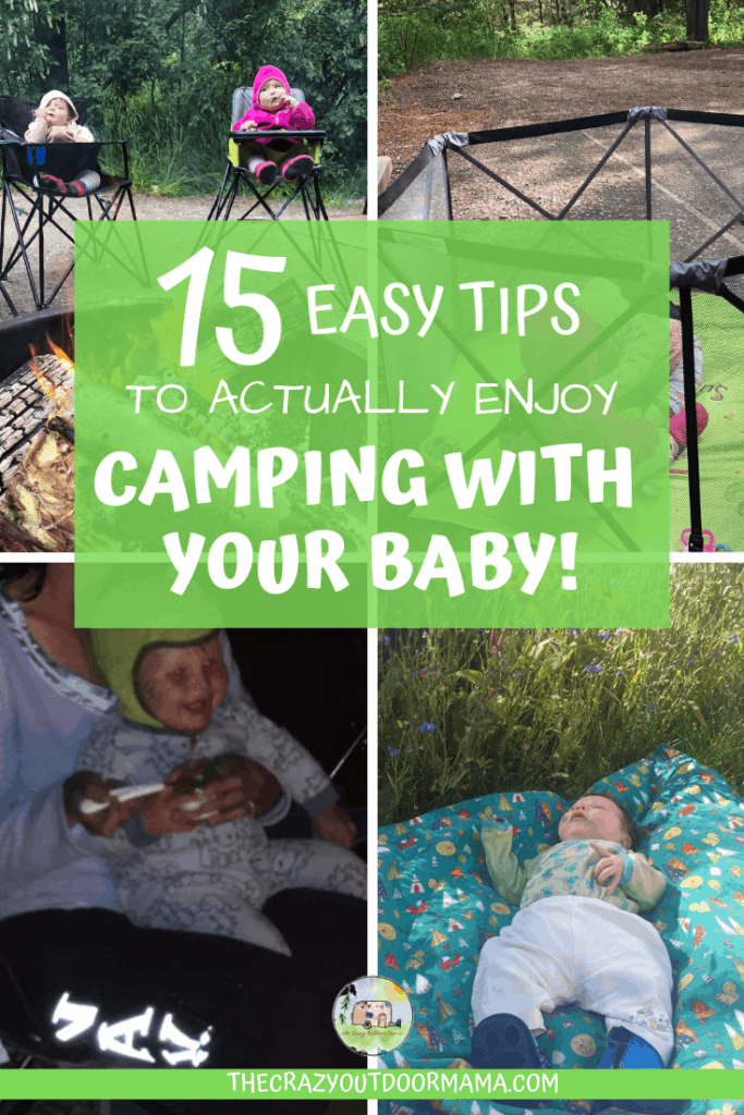 camping with baby and newborn tips