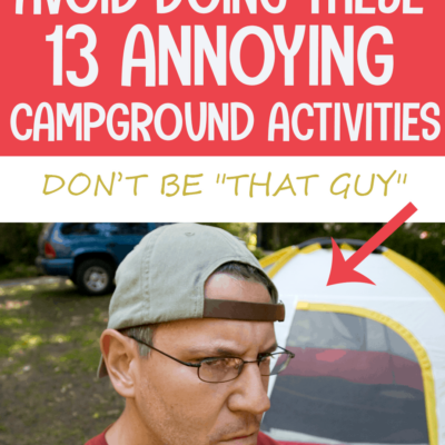 CAMPING TIPS AND BASICS FOR NEW CAMPERS GOING CAMPING