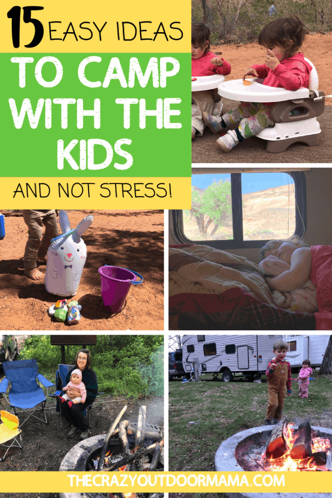 HOW TO CAMP WITH THE KIDS PLUS PRINTABLE CHECKLIST