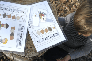 printable camping game for kids indoors during bad weather
