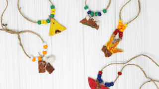 Easy and Fun Summer Camp Necklace Craft