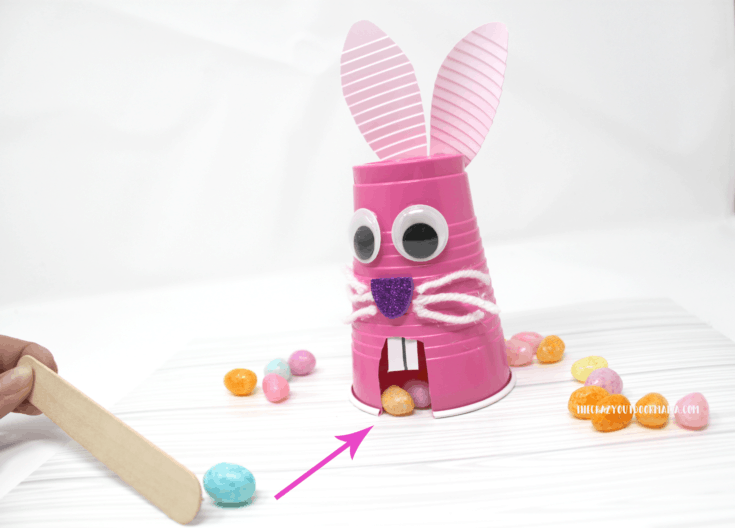 Easter Bunny Jellybean MUNCH Craft for Kids!