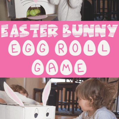 diy easter game for kids using plastic easter eggs