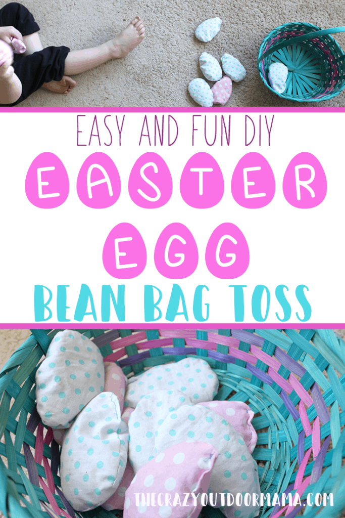 easy diy easter games for kids easter toss