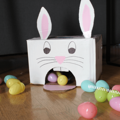 easy easter game for kids diy using plastic easter eggs