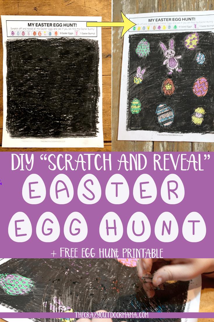 egg hunt game for kids printable 3