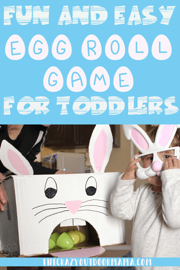 fun easter game for kids diy using plastic eggs