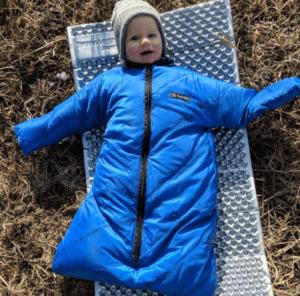 morrison outdoors baby camping sleeping bag