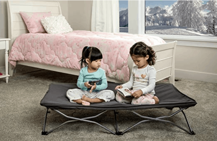 regalo my cot portable toddler travel bed