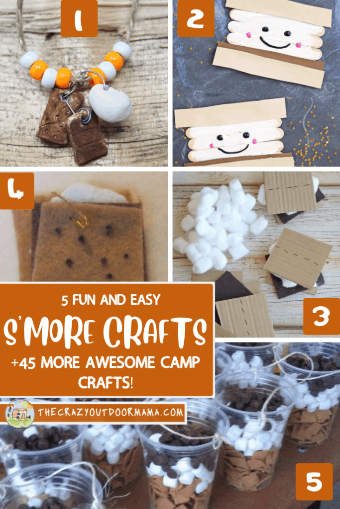 fun smore camp crafts for kids plus more