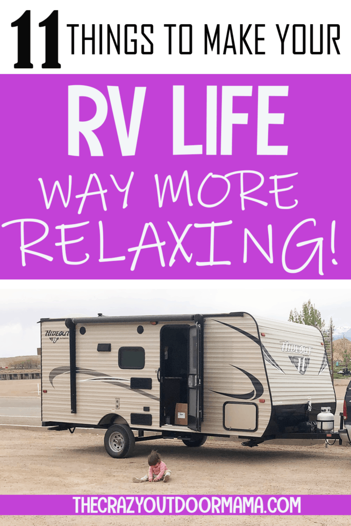 RV PRODUCTS FOR CAMPING AND RELAXING