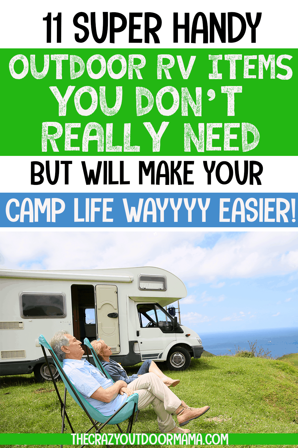11 Most Helpful Outdoor RV Products That You Don't Need