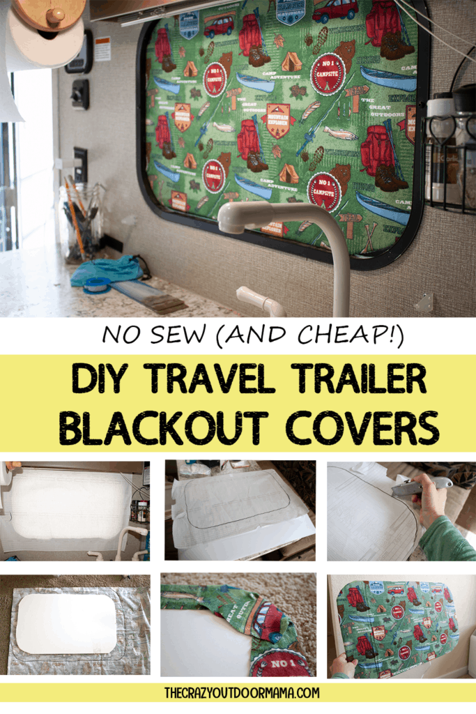 how to make blackout shade at home for camper windows
