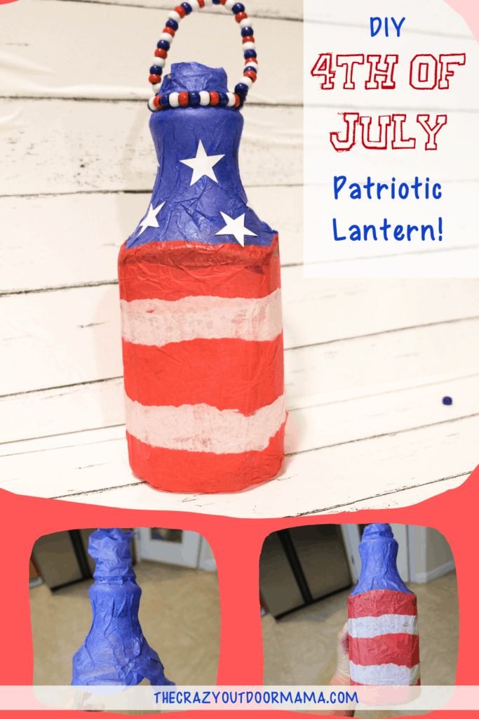 PATRIOTIC CRAFT HOME DECOR FOR KIDS OR ADULTS