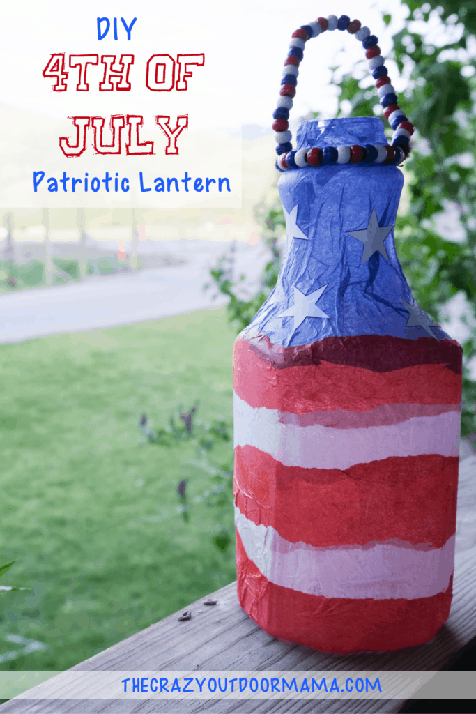 diy 4th of july patriotic craft home decor for kids or adults