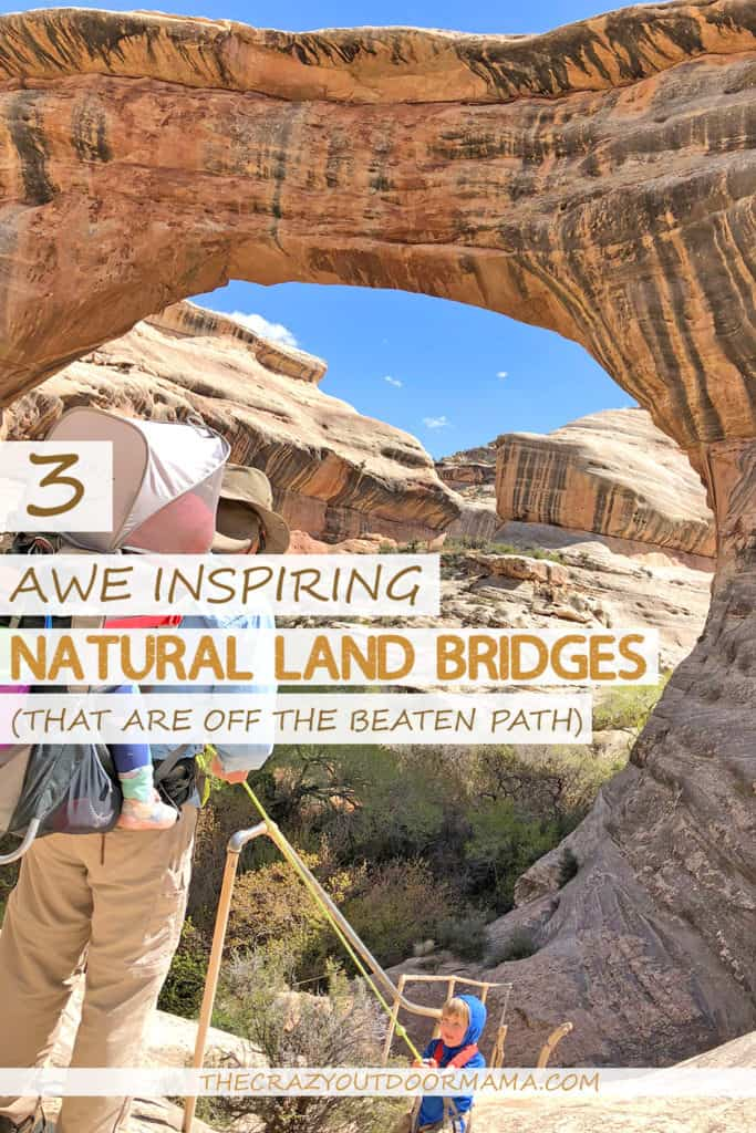 best natural land bridges in the us natural land bridges national monument