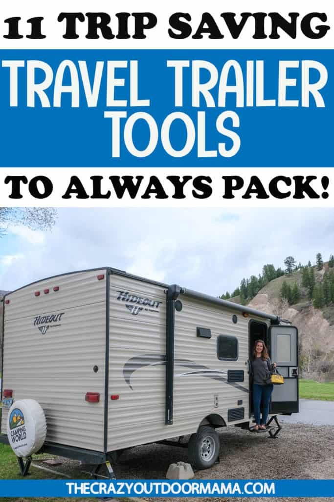basic tools for your camper or rv must haves