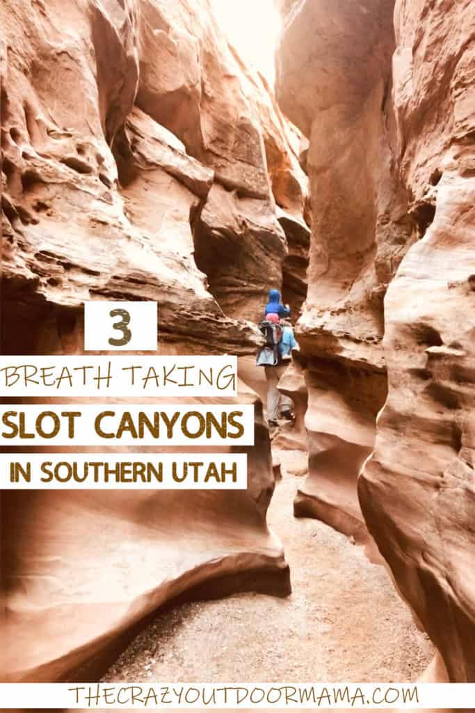 slot canyons in utah near zion and goblin valley