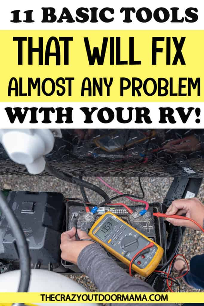 what things to buy for rv emergency tools kit