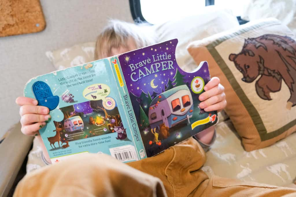 camping books for rainy day with kids