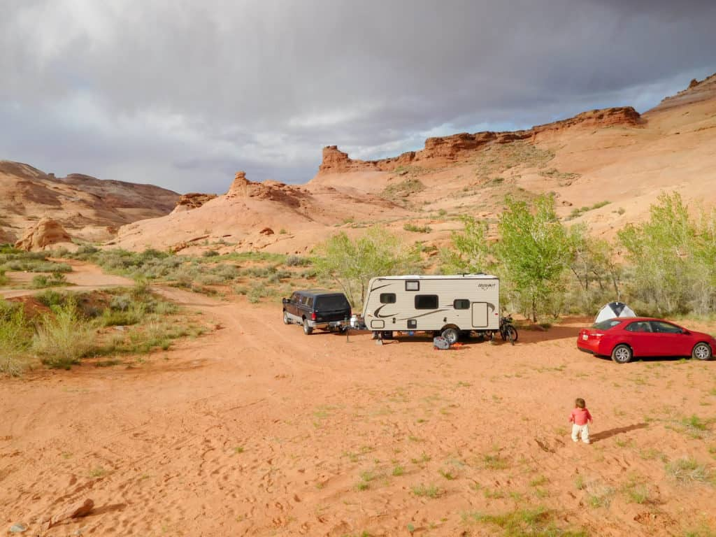 campsite leprechaun canyon
