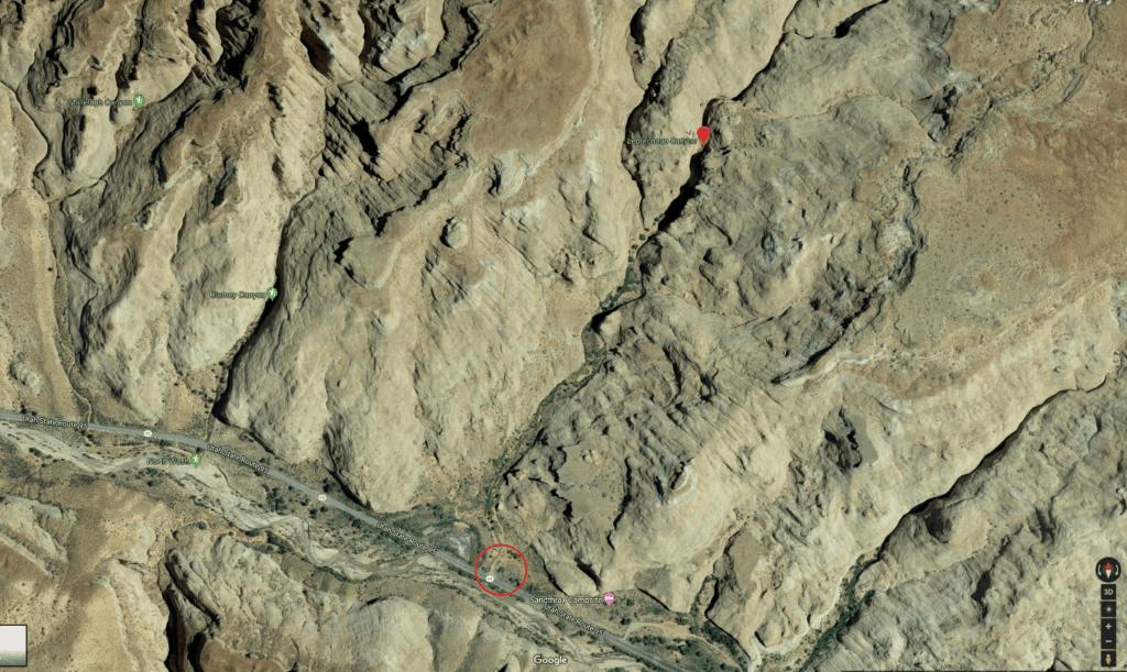 leprechaun canyon map