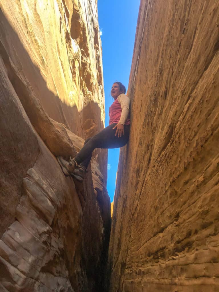 easy slot canyon for beginners little wild horse