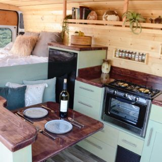 dodge promaster van rebuild ideas for decor custom wood work stinson vans