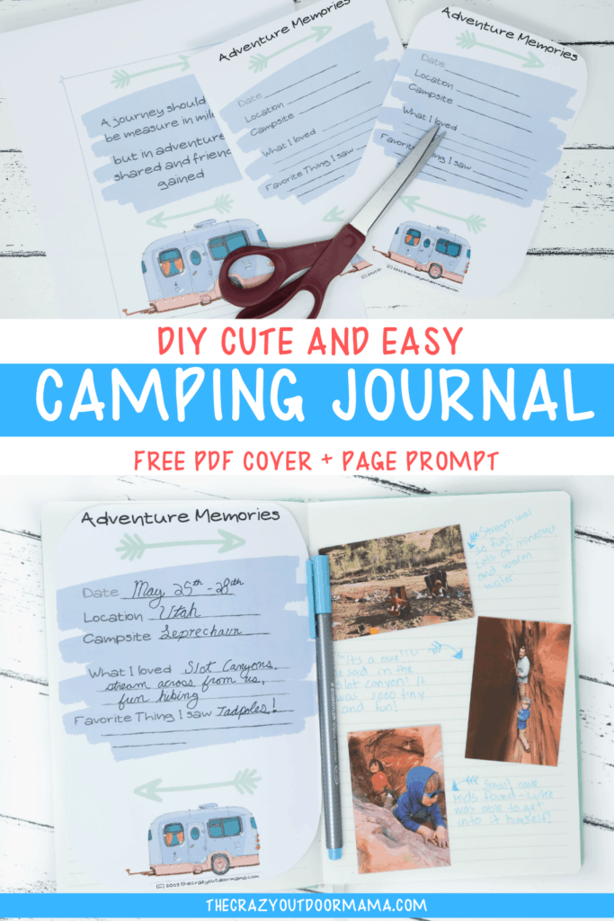 diy summer camp journal idea printable templates