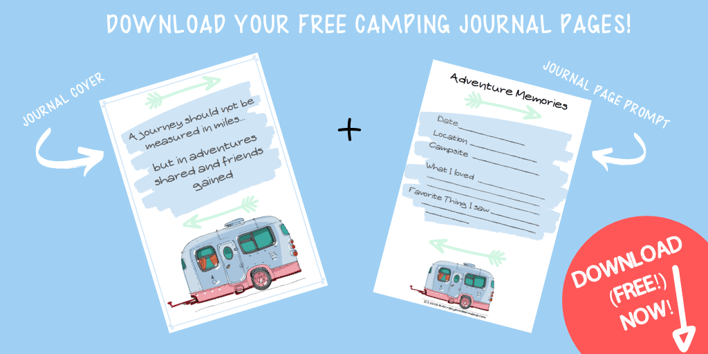 diy template for camp diary