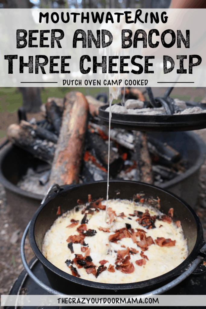 camp recipe for cheese dip in dutch oven