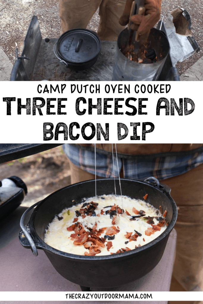 dutch oven camp recipe for cheese dip