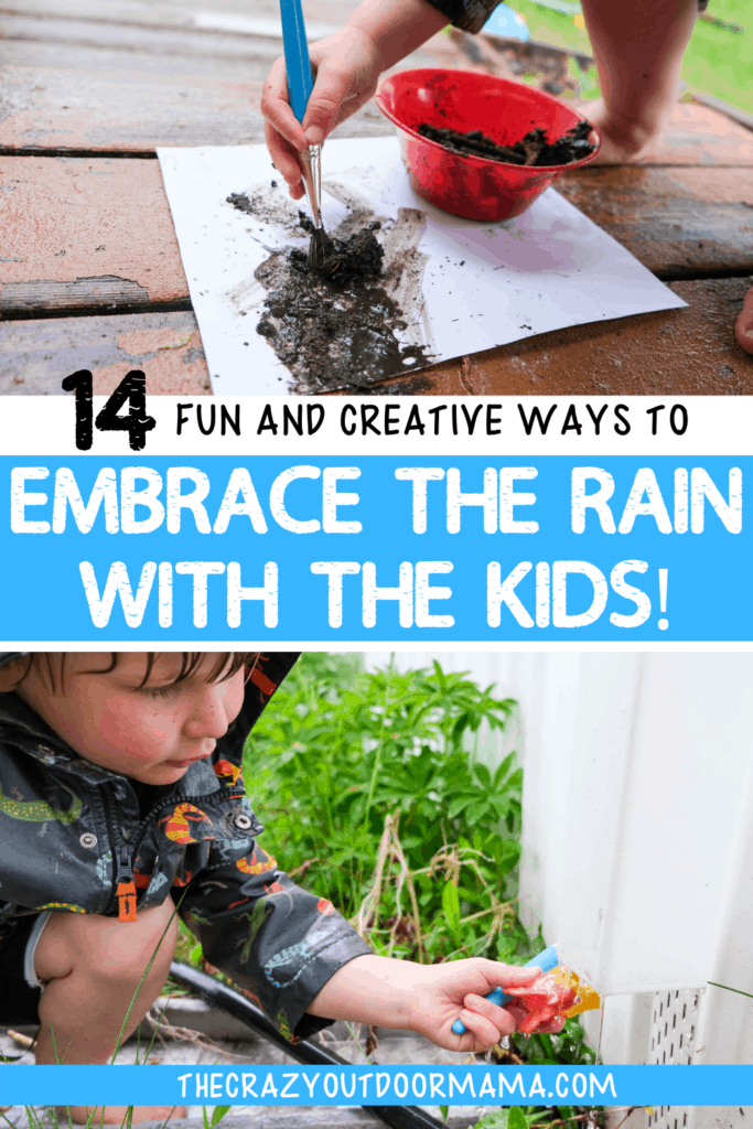 ideas for playing in the rain with kids