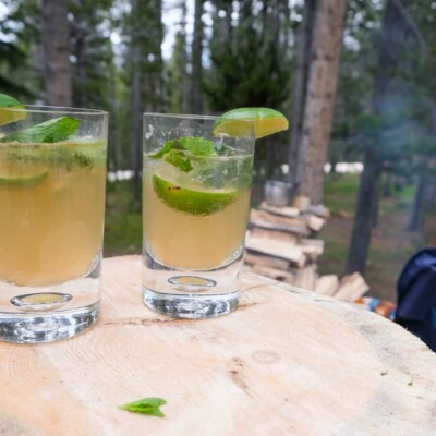 make ahead drink camp mojitos