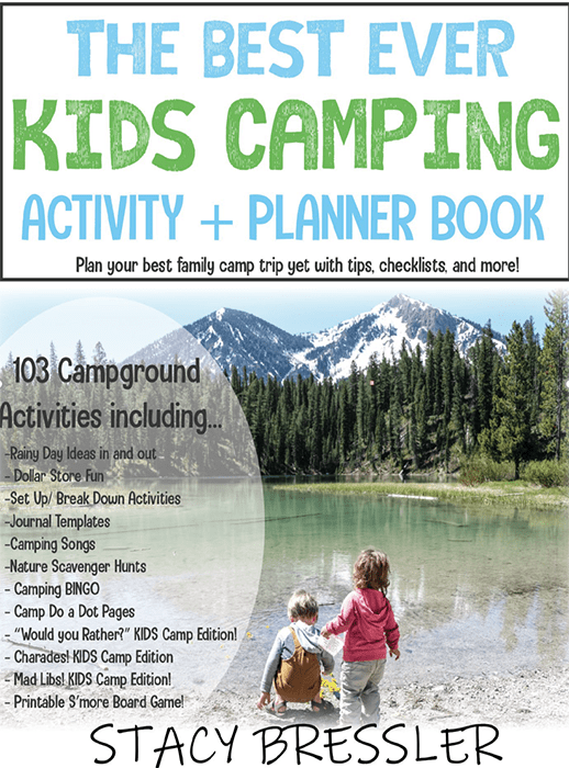 The BEST EVER Kids Camping Activity + Planner Book [62 Pages!] – The