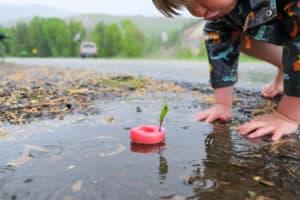 rain activities while camping