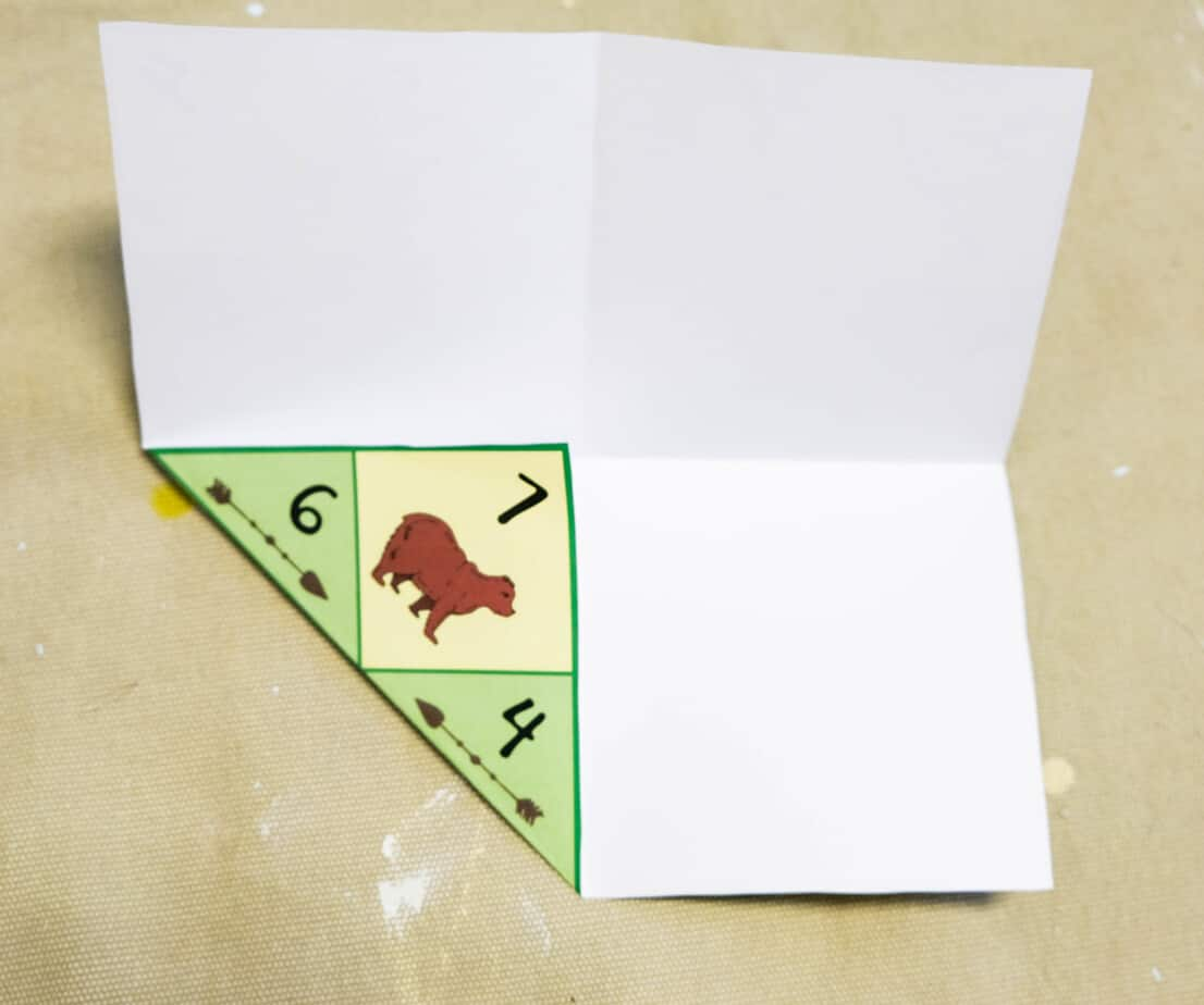 instructions for folding a cootie catcher