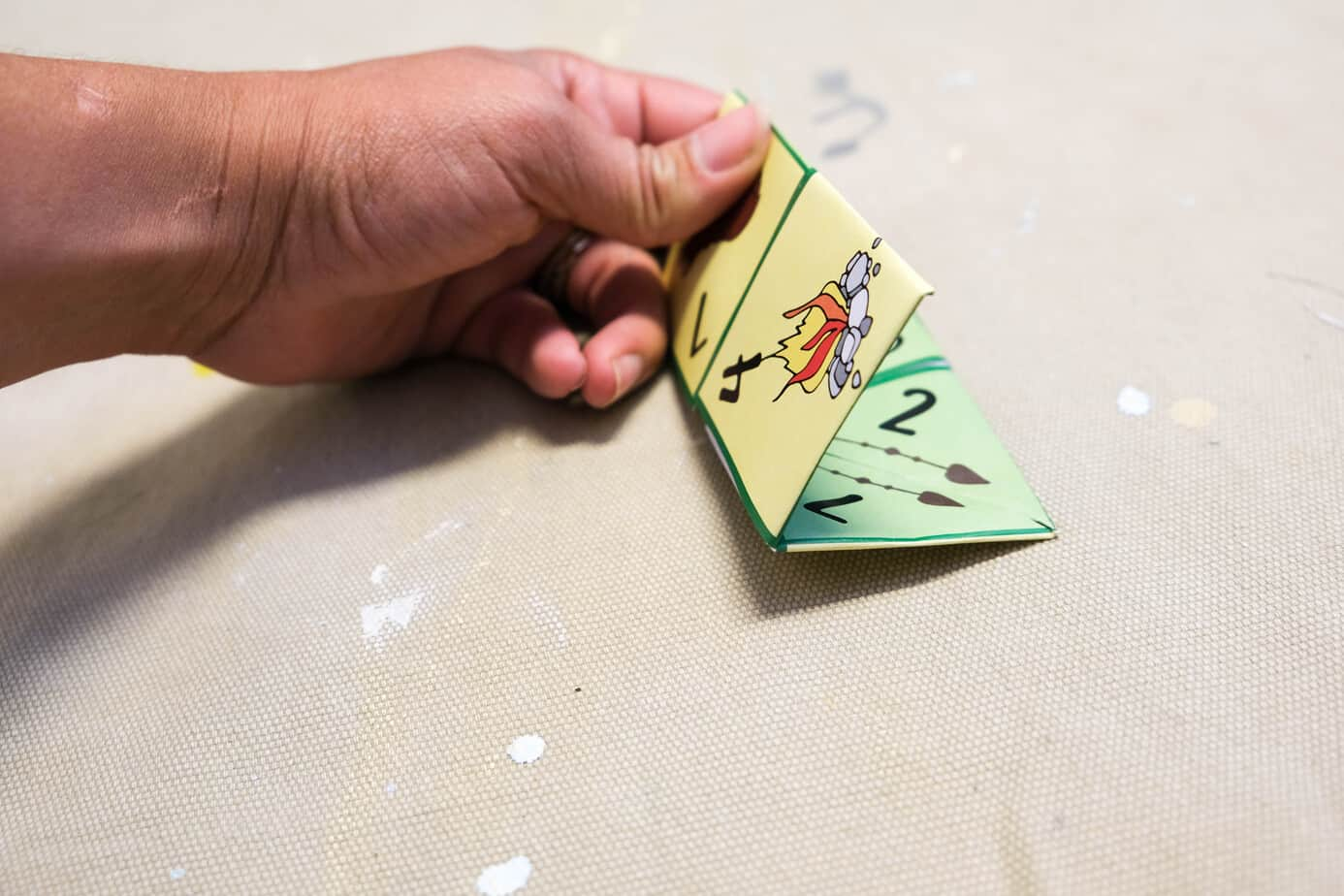 picture instructions for origami cootie catcher