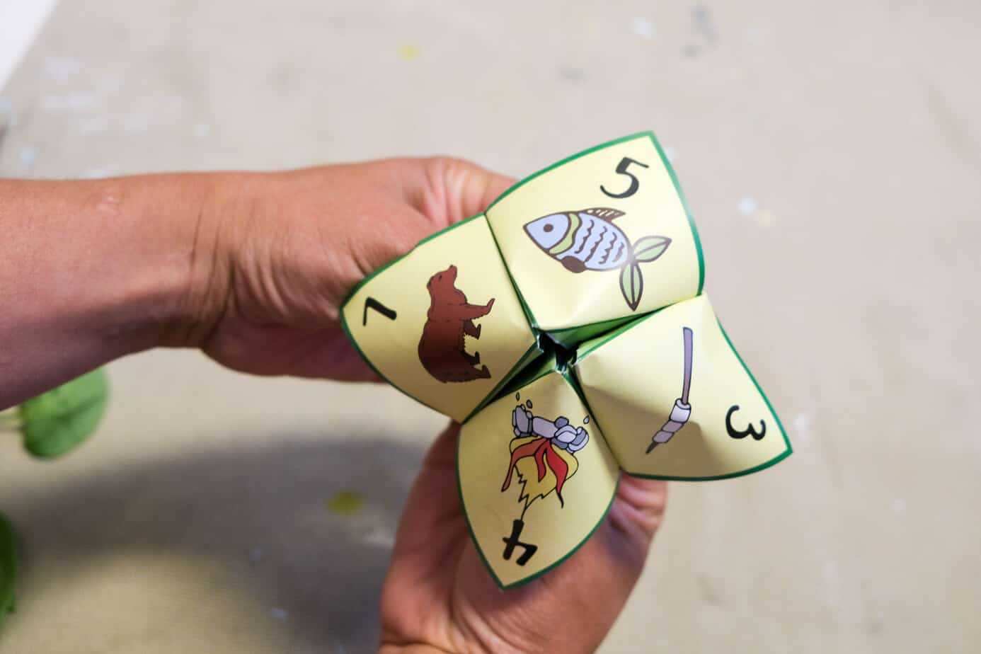 camp game for kids printable camp cootie catcher