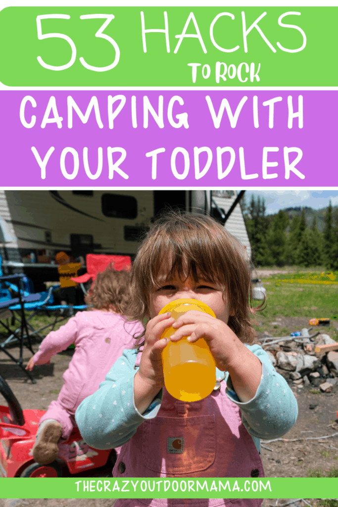 HOW TO TAKE YOUR YOUNG KIDS CAMPING