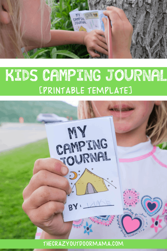fun kids camping activity camp journal