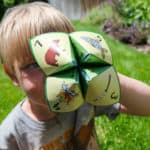 camp game for kids cootie catcher