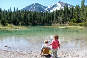 water for camping with kids