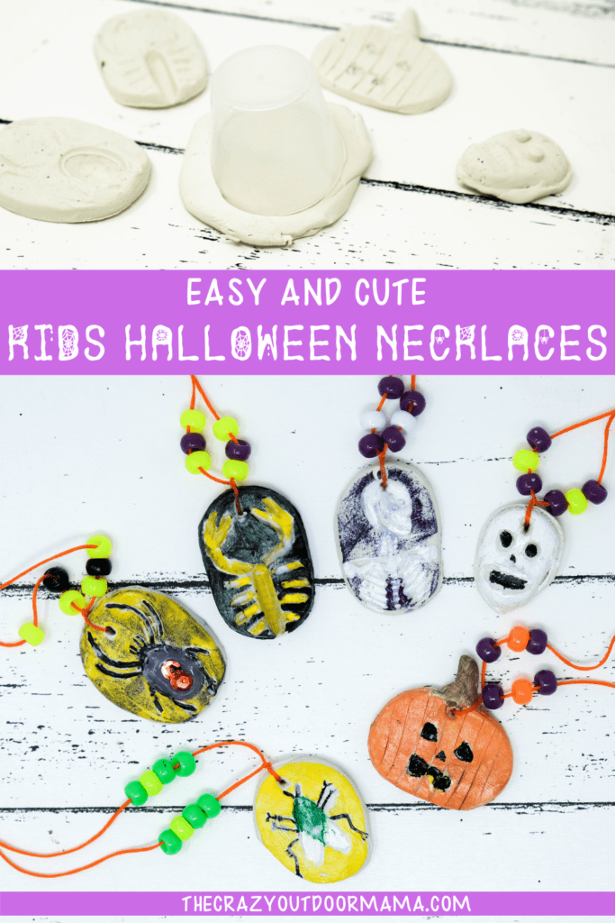 HALLOWEEN KIDS CRAFT NECKLACES DIY FOR HALLOWEEN KIDS PARTY OR CLASS ROOM