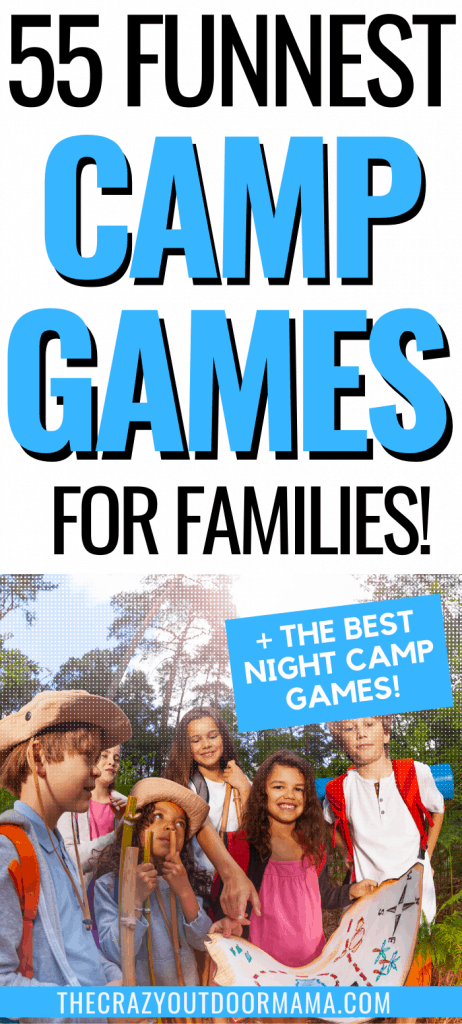 BEST NIGHT TIME CAMPING GAMES