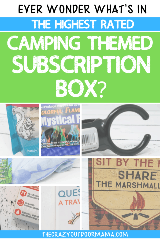 CAMPING GIFT IDEAS SUBSCRIPTION BOX