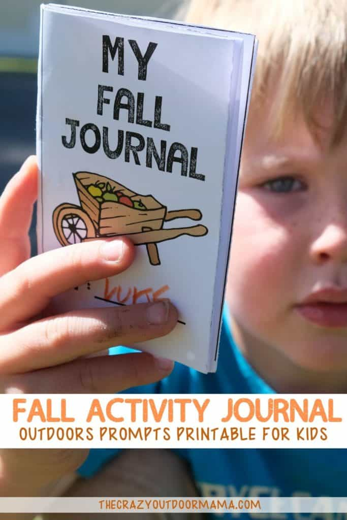 fall activity idea for kids fall journal printable